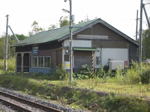 石北本線 金華(旅客扱い廃止)
