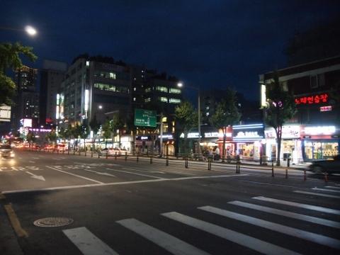 〔韓国〕中央線 上鳳