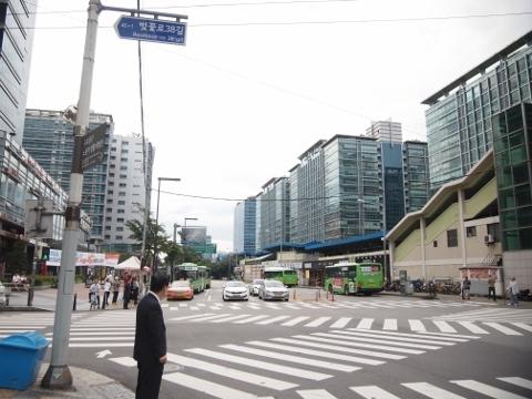 〔韓国〕京釜線 加山デジタル団地