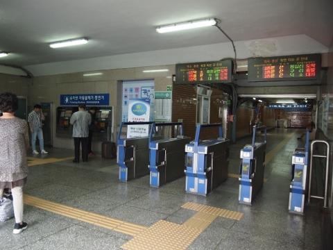 〔韓国〕京元線 漢南
