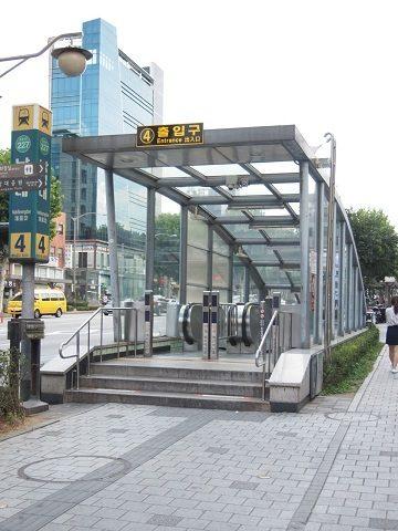 〔韓国〕ソウル地下鉄2号線 落星垈