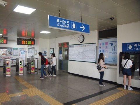 〔韓国〕京元線 西氷庫