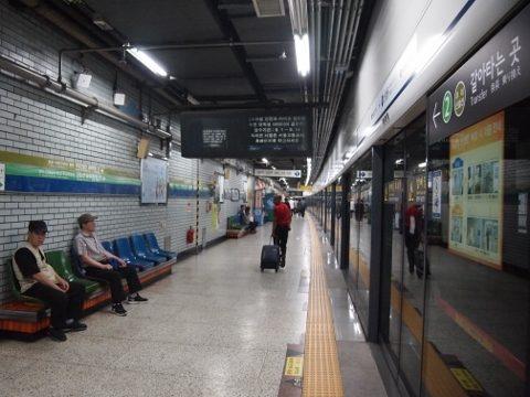〔韓国〕ソウル地下鉄1号線 新設洞