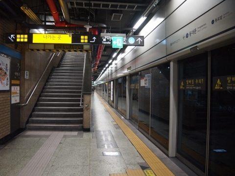 〔韓国〕ソウル地下鉄1号線 東大門