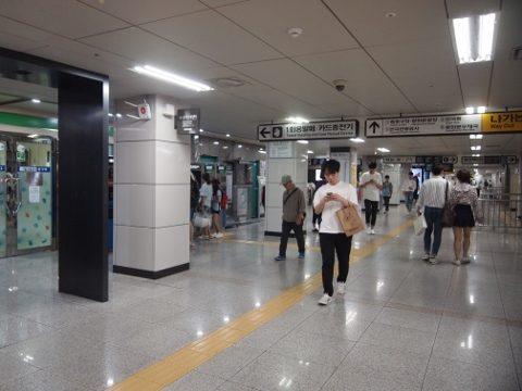 〔韓国〕ソウル地下鉄1号線 鐘閣