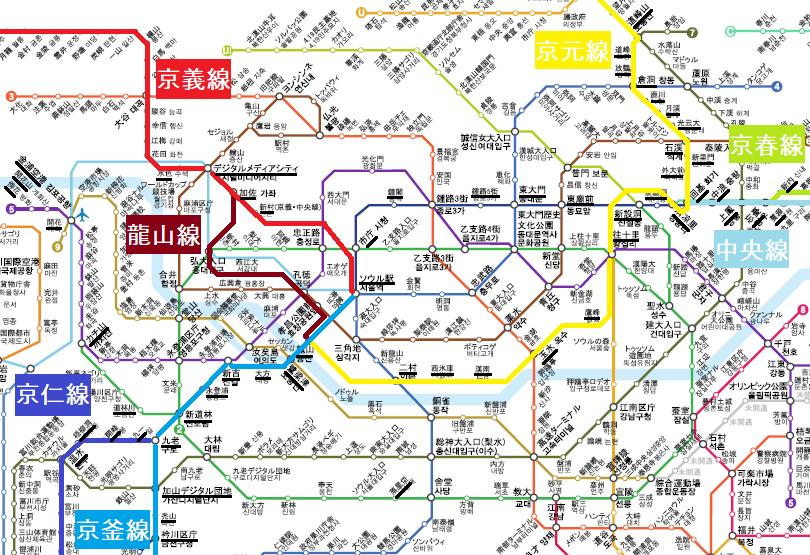ソウルの駅