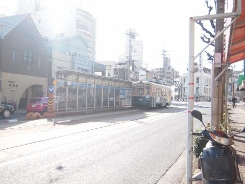 広島電鉄宇品線 県病院前