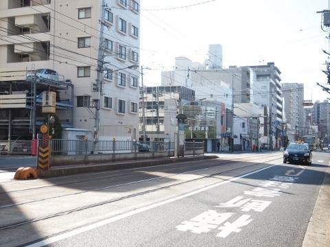 広島電鉄宇品線 宇品四丁目