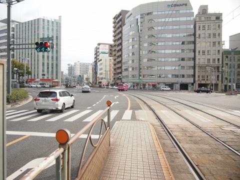 広島電鉄本線 稲荷町