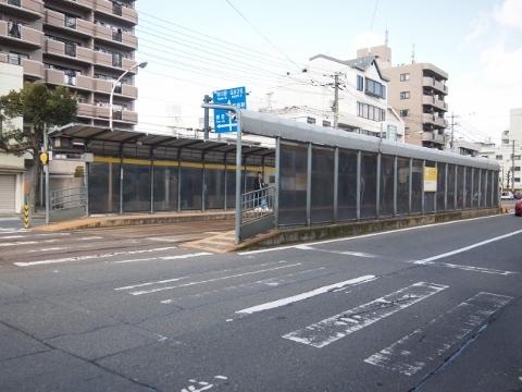 広島電鉄江波線 舟入川口町