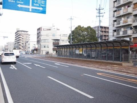広島電鉄江波線 舟入南町
