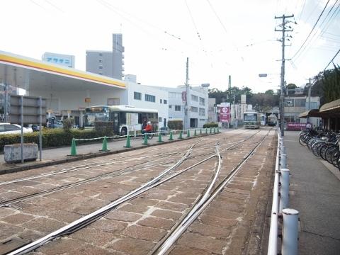 広島電鉄江波線 江波