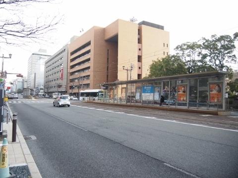 広島電鉄宇品線 市役所前