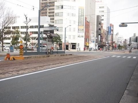 広島電鉄横川線 縮景園前