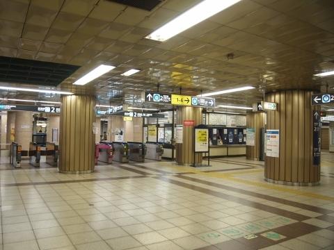 東京メトロ東西線 九段下