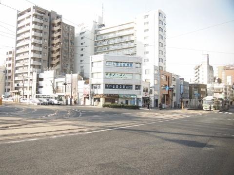 広島電鉄本線 的場町