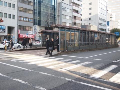 広島電鉄宇品線 中電前
