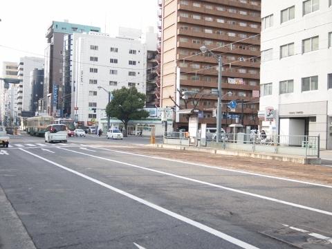 広島電鉄白島線 女学院前