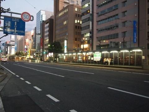 広島電鉄本線 立町