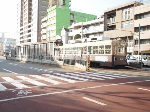 広島電鉄宇品線 日赤病院前