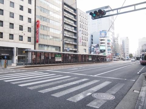 広島電鉄本線 八丁堀