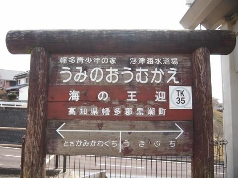 土佐くろしお鉄道中村線 海の王迎