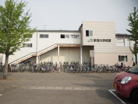 越後線 新潟大学前