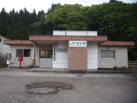 磐越西線 徳沢