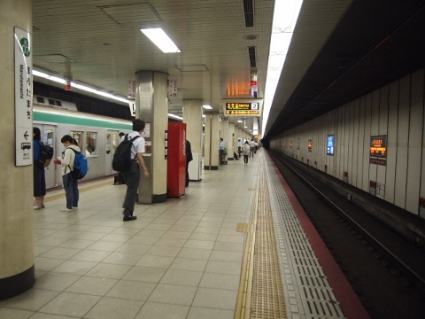 京都市営地下鉄烏丸線 丸太町