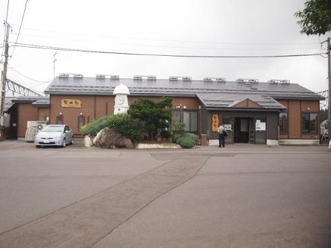 津軽線 蟹田