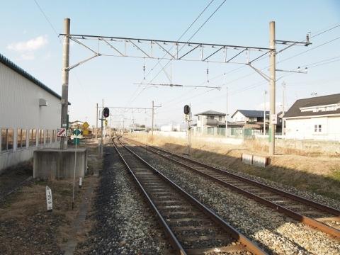 奥羽本線 漆山