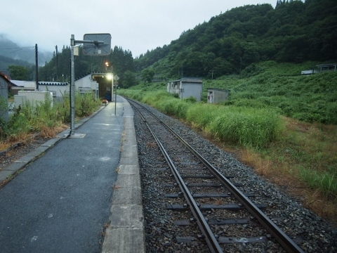米坂線 羽前沼沢