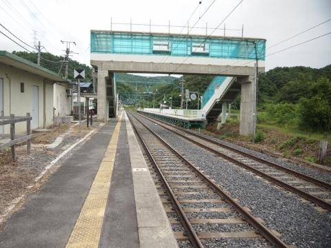 奥羽本線 羽前中山
