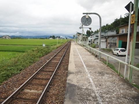 米坂線 成島