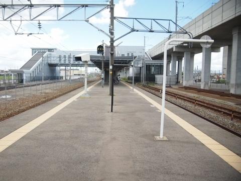 北陸本線 西金沢