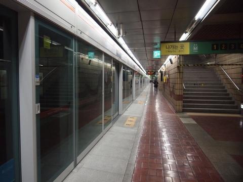 〔韓国〕釜山都市鉄道1号線 釜山鎮