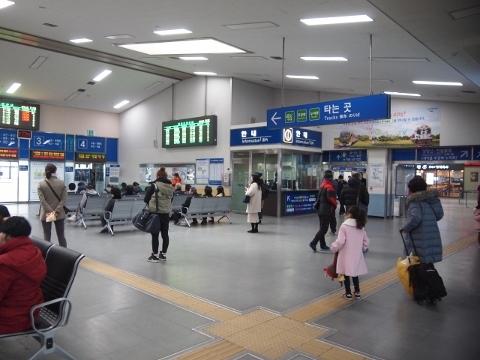〔韓国〕京釜線 天安