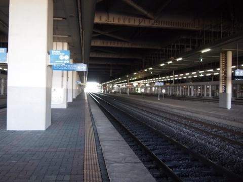 〔韓国〕京釜線 平沢