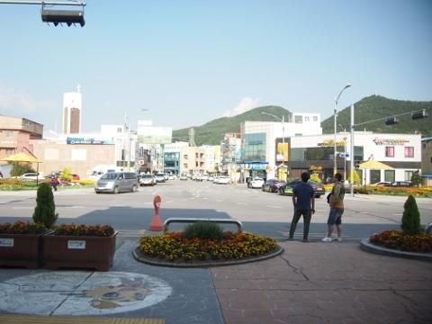 〔韓国〕湖南線 長城