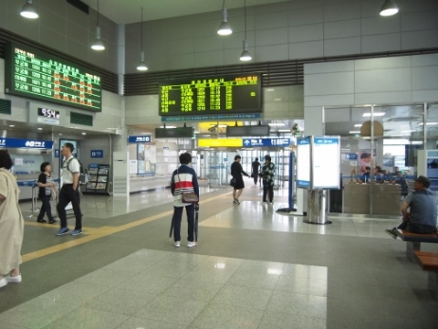 〔韓国〕京釜線 慶山