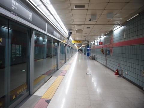 〔韓国〕ソウル地下鉄8号線 新興