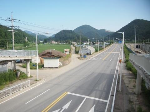 〔韓国〕嶺東線 東栢山