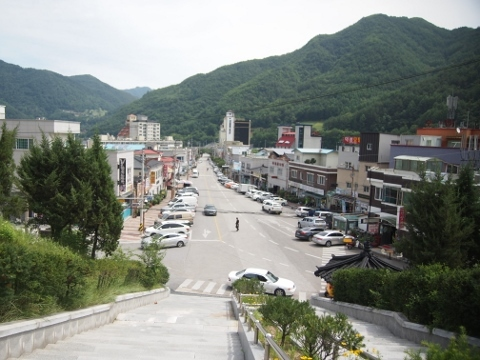〔韓国〕太白線 ミンドゥン山