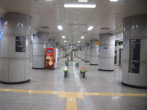 〔韓国〕光州都市鉄道1号線 錦南路4街