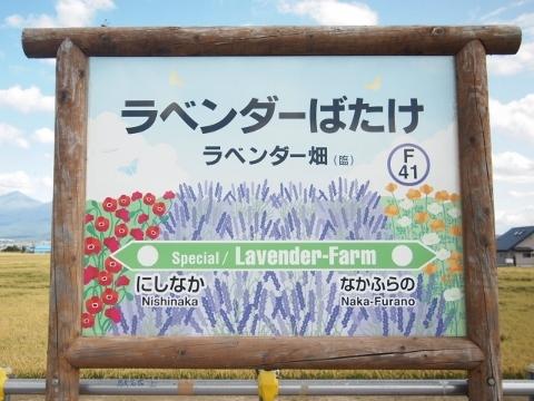 富良野線 (臨)ラベンダー畑