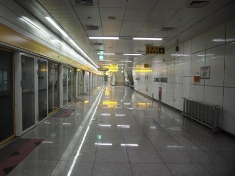 〔韓国〕光州都市鉄道1号線 光州松汀駅