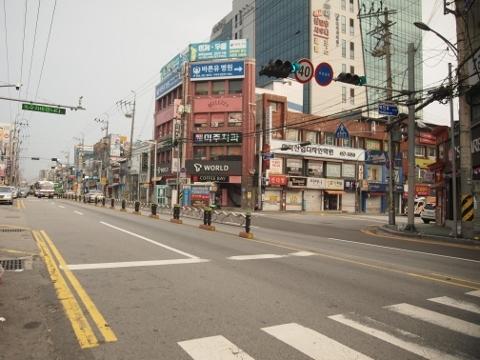 〔韓国〕京釜線 亀尾