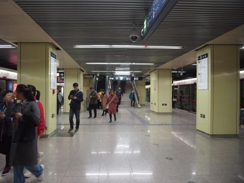 〔中国〕北京地下鉄5号線 和平里北街
