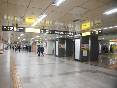 〔韓国〕ソウル地下鉄3号線 良才