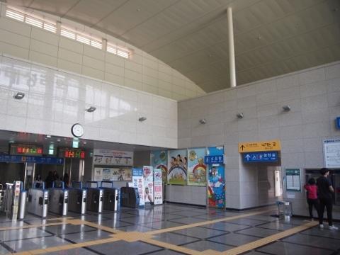 〔韓国〕京春線 大成里